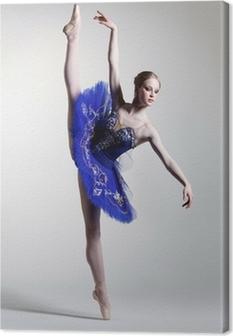 Leinwandbild Die Tänzerin