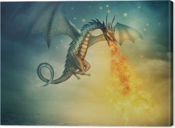 Leinwandbild Drachen