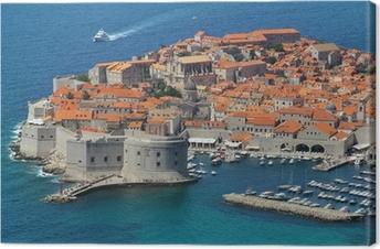 Leinwandbild Dubrovnik, Kroatien
