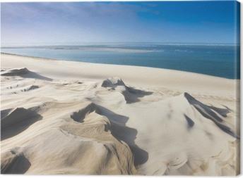 Leinwandbild Dune du Pyla bei Arcachon