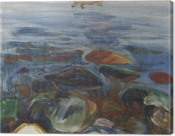 Leinwandbild Edvard Munch - Boot auf dem Meer - Reproduktion