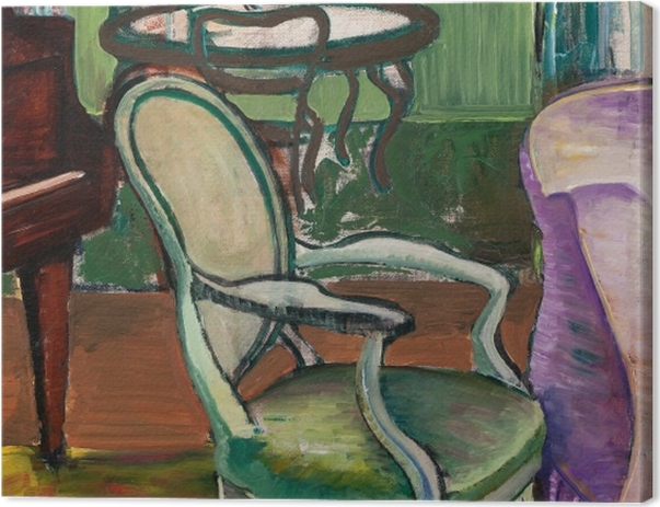 Leinwandbild Efa Prudence Heward - Studium des Atelier des Künstlers - Reproductions