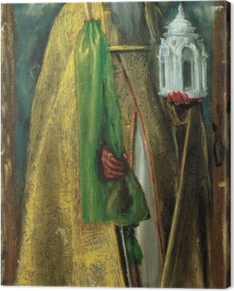 Leinwandbild El Greco - Der heilige Augustinus - Reproduktion