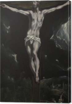 Leinwandbild El Greco - die Kreuzigung