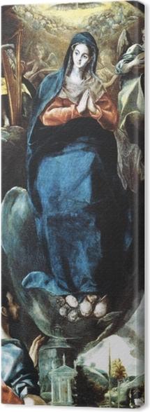Leinwandbild El Greco - Inmaculada Concepción (Unbefleckte Empfängnis) - Reproduktion