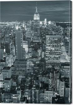 Leinwandbild Empire State Building closeup