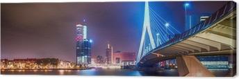 Leinwandbild Erasmus Brug Rotterdam