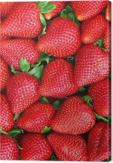 Leinwandbild Erdbeeren
