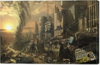 Leinwandbild Fallout