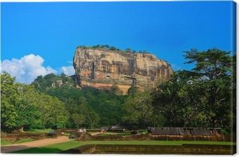 Leinwandbild Felsenfestung Sigiriya