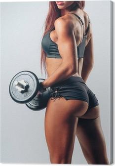 Leinwandbild Fitness woman