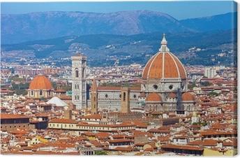 Leinwandbild Florence cityscape