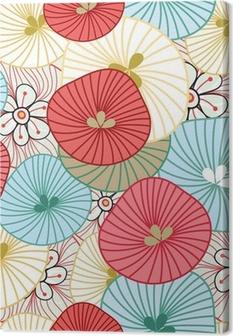Leinwandbild Flower Background