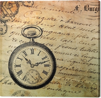 Leinwandbild Fond montre