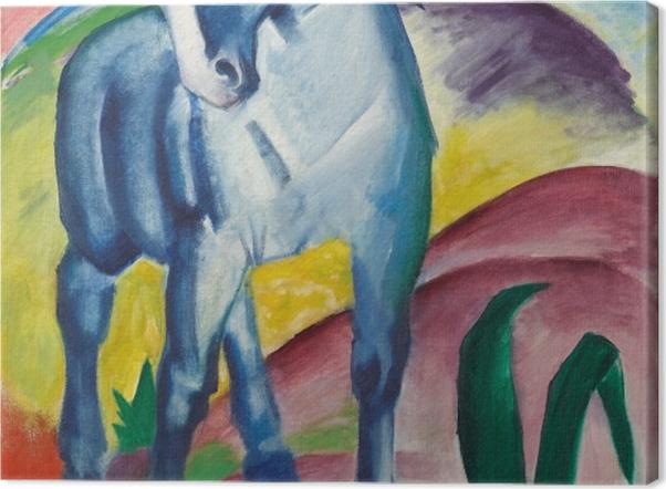 Leinwandbild Franz Marc - Der Turm der blauen Pferde - Reproductions