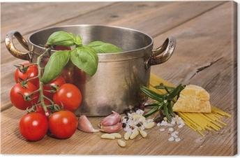 Leinwandbild Mediterrane Küche • Pixers® - Wir leben, um zu verändern