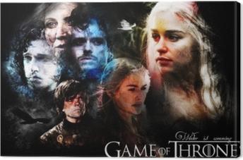 Leinwandbild Game of Thrones