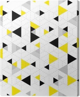 Leinwandbild Geometrische Muster-Hintergrund