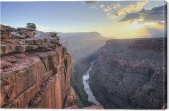 Leinwandbild Grand Canyon Toroweap Punkt Sonnenaufgang