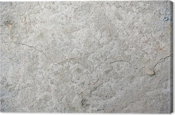 Leinwandbild grau gerissenen beton textur hintergrund close up pixers wir leben um zu - Leinwandbild grau ...