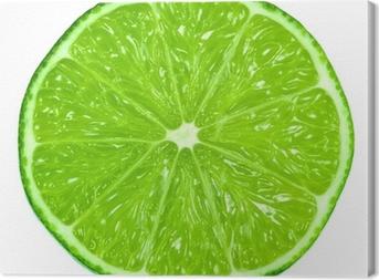 Leinwandbild Green limes