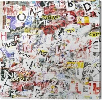 Leinwandbild Grunge Textured Background