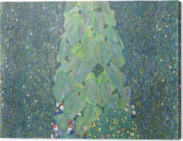 Leinwandbild Gustav Klimt - Die Sonnenblume - Reproduktion