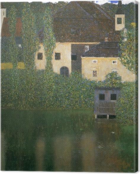 Leinwandbild Gustav Klimt - Schloss Kammer am Attersee - Reproduktion