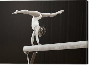 Leinwandbild Gymnast - 2