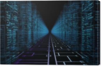 Leinwandbild Hacker der Welt