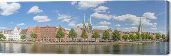 Leinwandbild Hansestadt Lübeck