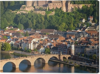 Leinwandbild Heidelberg am Neckar