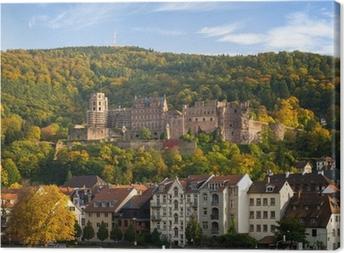 Leinwandbild Heidelberger Schloss