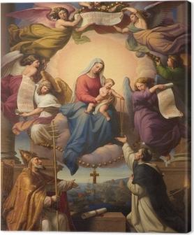 Leinwandbild Heiligen Maria und dem kleinen Jesus aus Wien Kirche