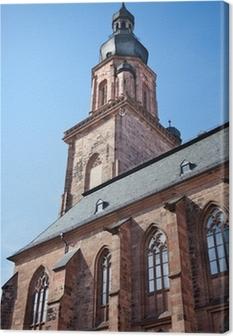Leinwandbild Heiliggeistkirche Heidelberg