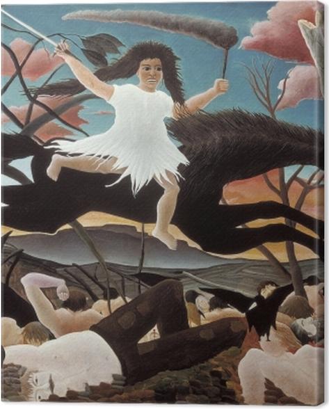 Leinwandbild Henri Rousseau - Der Krieg - Reproduktion