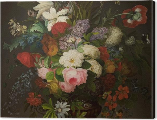 Leinwandbild Henryka Beyer - Blumen in der Vase - Reproductions