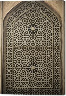 Leinwandbild Hintergrund mit orientalischen Ornamenten