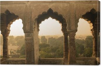 Leinwandbild Historische Bauten, Indien