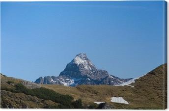Leinwandbild Hochvogel - Allgäuer Alpen - Deutschland
