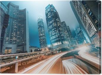 Leinwandbild Hong kong