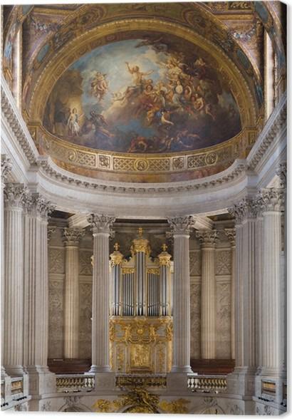 Leinwandbild Interior of Versailles mit einer Art auf einer Liste ...