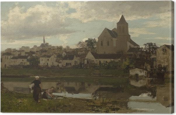 Leinwandbild Jacob Maris - Blick auf Montigny - Reproductions