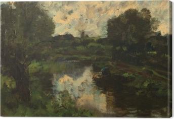 Leinwandbild Jacob Maris - See nach dem Sturm