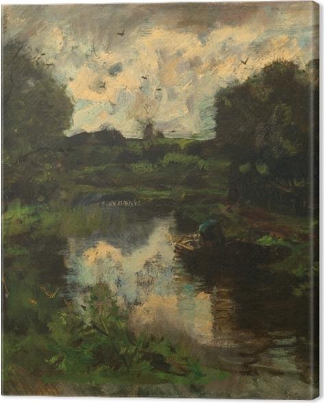 Leinwandbild Jacob Maris - See nach dem Sturm - Reproductions