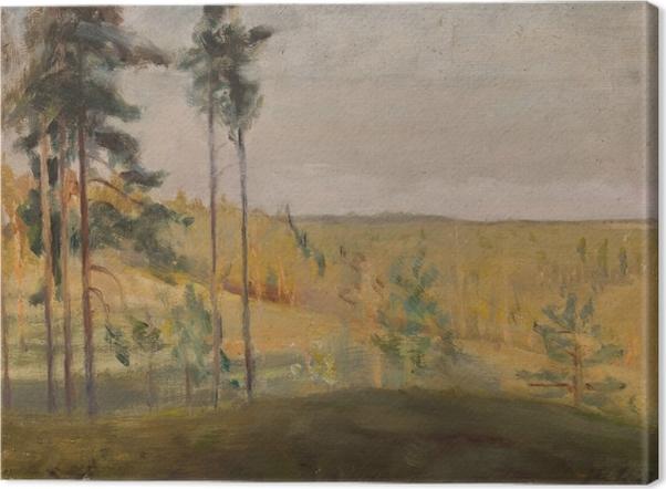 Leinwandbild Jan Ciągliński - Terioki - Finnland - Reproductions