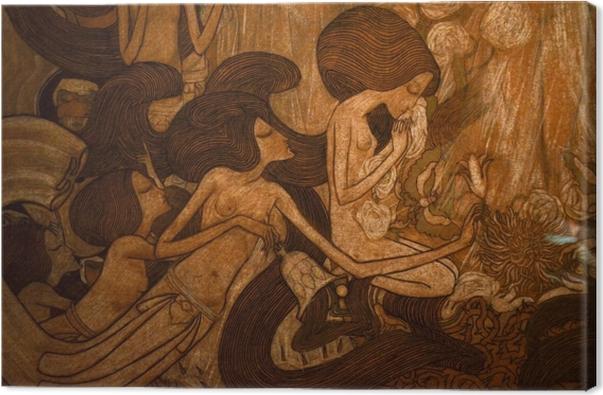 Leinwandbild Jan Toorop - Die drei Bräute - Reproductions