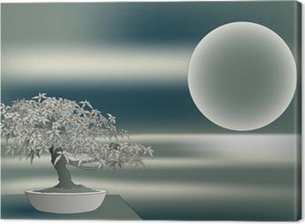 Leinwandbild Japanischer Ahorn Bonsai