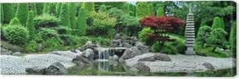 Leinwandbild Japanischer Garten