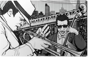 Leinwandbild Jazz in New York